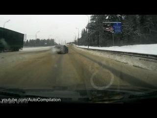 Нарезка везений на дороге